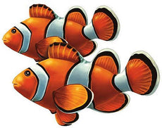 Clown Fish Double Porcelain Mosaic