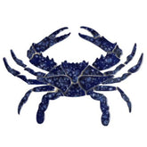 Blue Crab BC34-12 Ceramic Mosaic