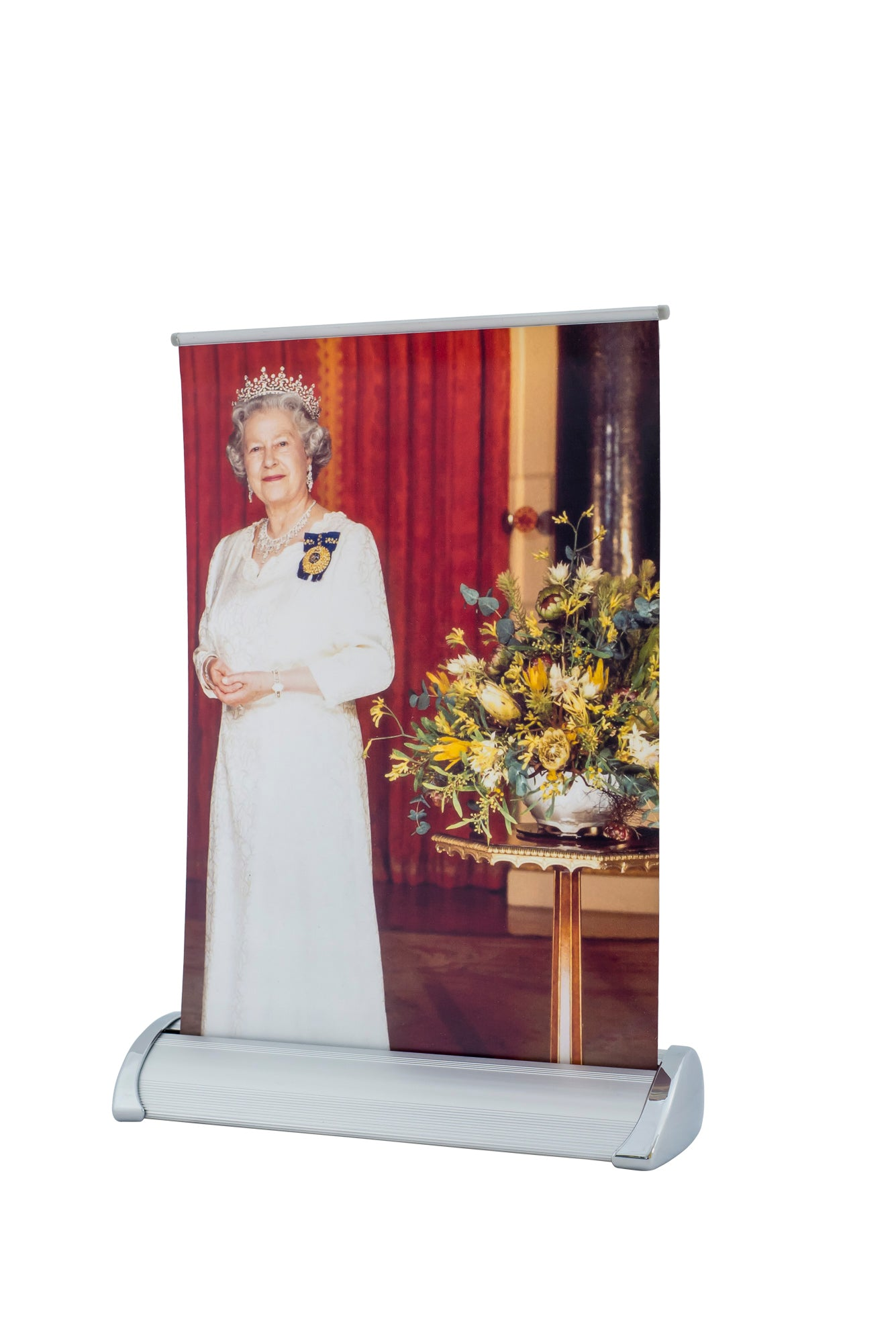 Queen Pull up Banner (A4 size)