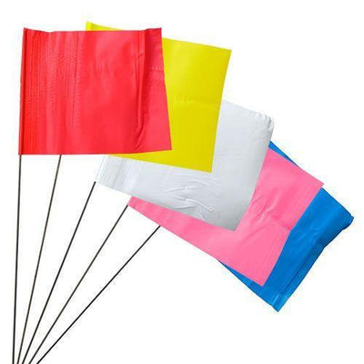 Stake Flags on Wire Presco - 100 Flags-Normal-Prospectors
