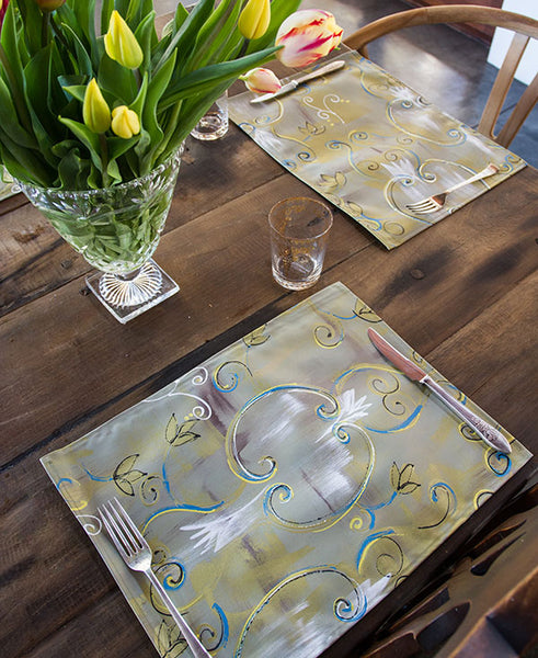 Antique Brocade Placemats