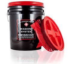 FANTASTIC OFFER! Swissvax Bucket 5 Gallon with grit guard and lid (RRP £39.99) - Jooji