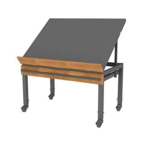 Metal European Table 47.5X36