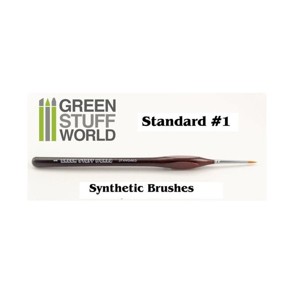Standard #1 synthetic brush