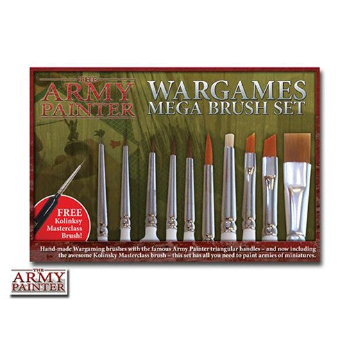 Army Painter Mega Brush Set