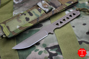Spartan Blades Formido Fixed Blade FDE and Multicam Molle Sheath