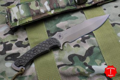Spartan Blades Horkos Fixed Blade FDE with OD Green Handle and Multicam Molle Sheath
