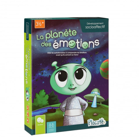 Le Planete des emotions - Developpement socioaffectif - Placote