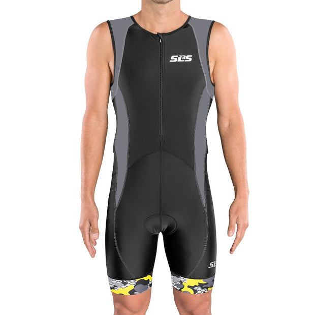 Men's FX Triathlon Race Suit Gray - SLS3