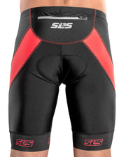 Men's FX Z Triathlon Race Shorts Red - SLS3