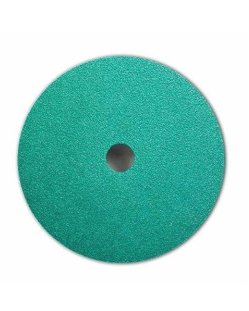 3M 5 in. x 7/8 in. 50 Grade Green Corps Fibre Disc
