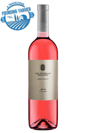 SR TONELLA CELLARS Rosé, Napa Steve Tonella travelfood curated wines