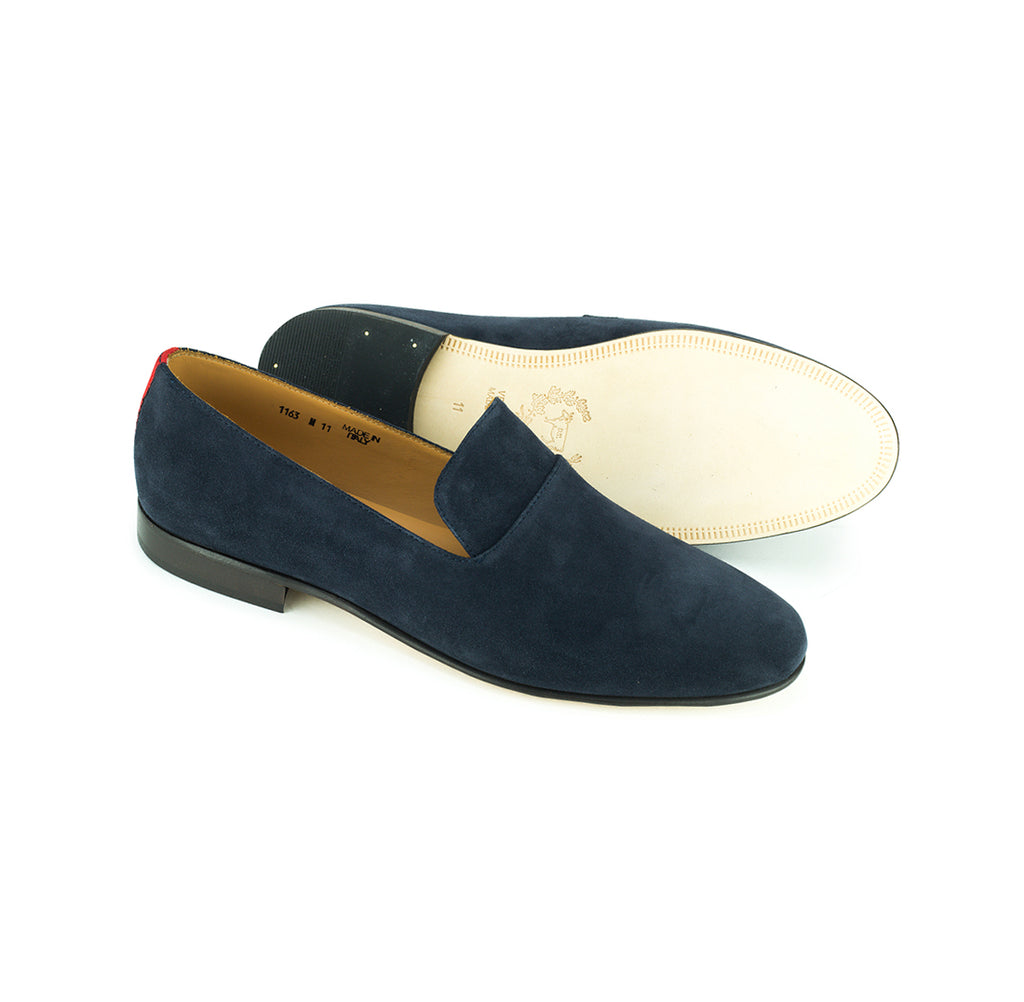 Navy Suede Everyday Loafer