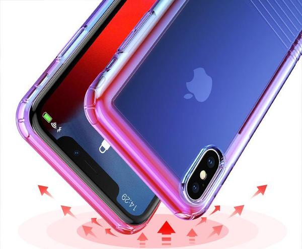 Coque Transparent iPhone Antichoc