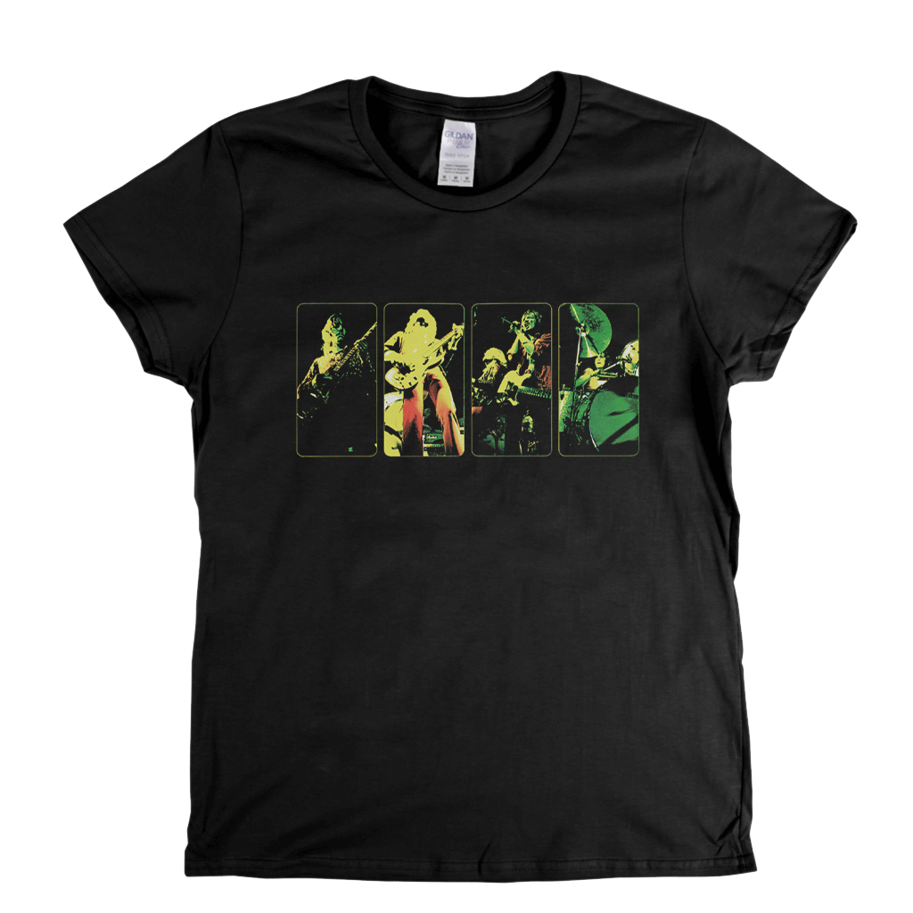 Humble Pie Rock On Inner Sleeve Womens T-Shirt