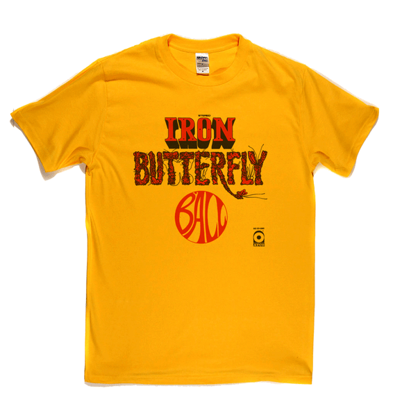Iron Butterfly Ball T-Shirt