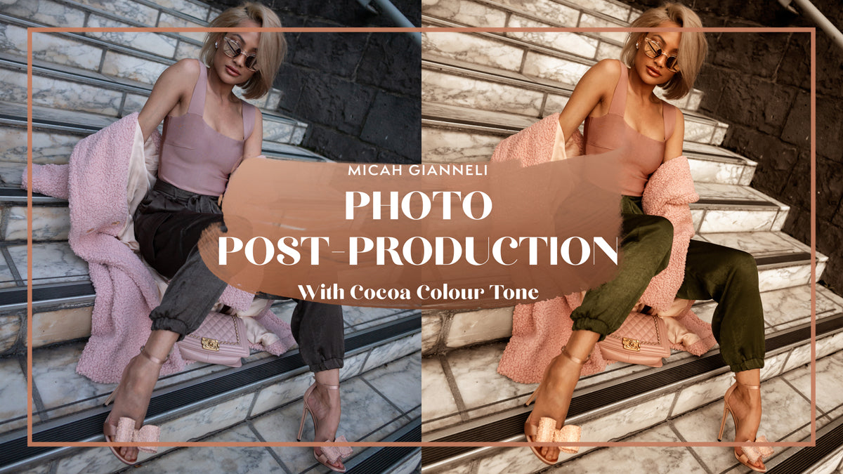 Photo Post-Production - Cocoa
