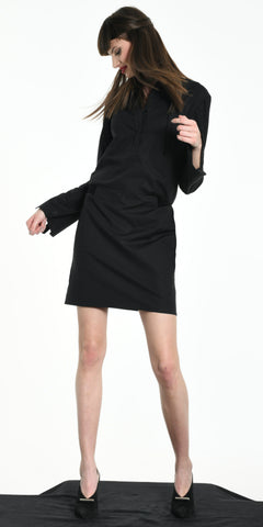 SHORT DRESS BLACK