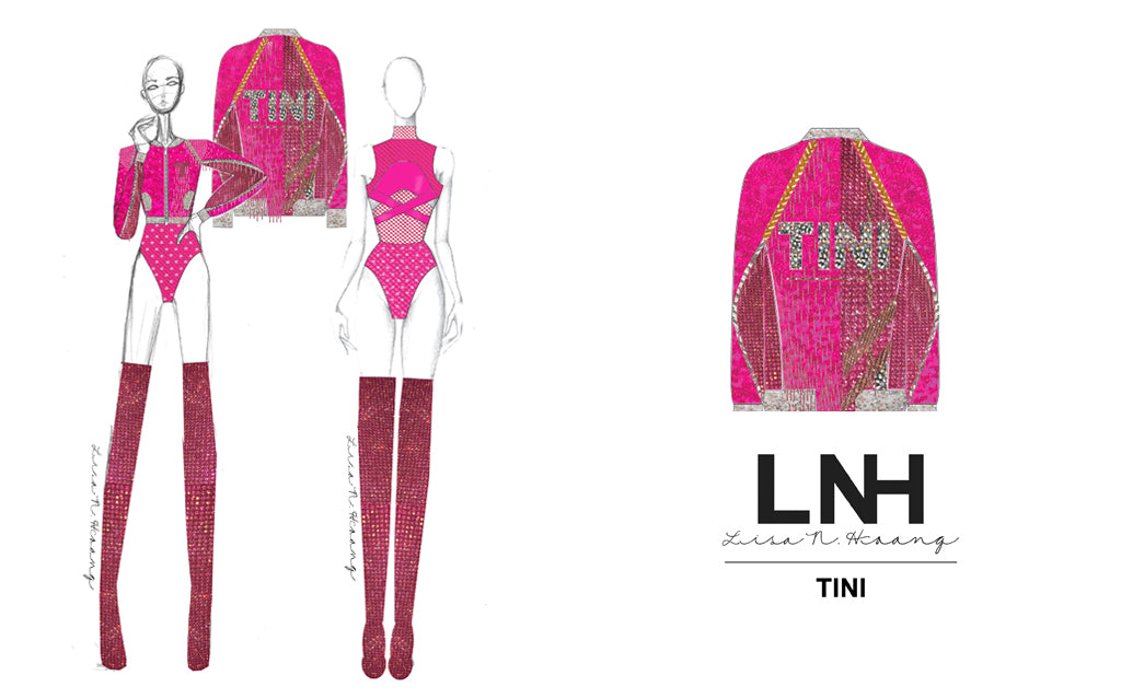 Tini custom Balon de Oro Look by LNH