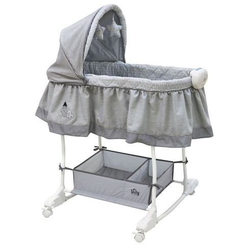 Bily Rocking Bassinet - Arctic Bear