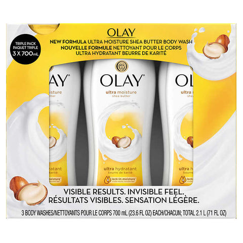 Olay Body Wash 700 mL, 3-count