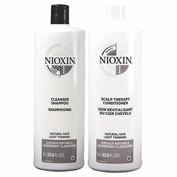 Nioxin Cleanser Shampoo and Scalp Therapy Conditioner