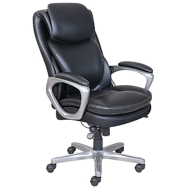 Serta SmartLayers Arlington AirManager Chair, Black