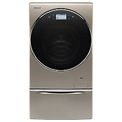 Whirlpool 3.2 cu. ft. Smart All-In-One Washer and Dryer with Load & Go