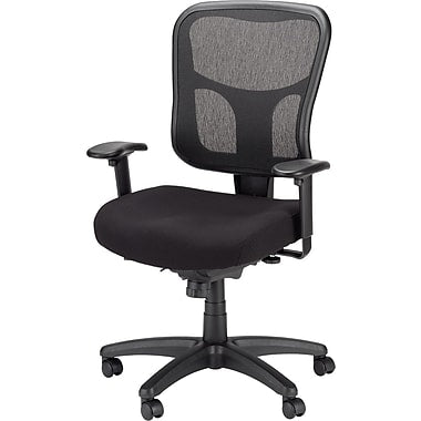 Tempur-Pedic Mesh Chair, Mid-back, Black