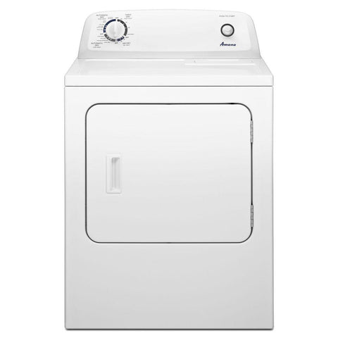 Amana 6.5 cu. ft. Top Load Electric Dryer with Automatic Dryness Control in White