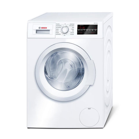 """Bosch 300 Series - 24 inch Compact Washer - Plugs Into Dryer (See Installation Manual) - ENERGY STAR® """