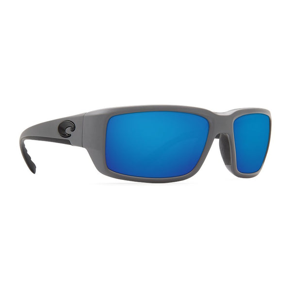 Costa Del Mar Fantail 580G Fantail, Matte Gray Blue Mirror, Blue Mirror