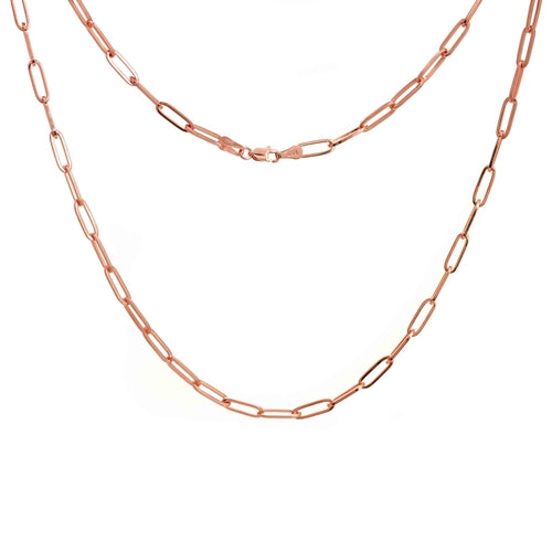 Serpentine Elemental Necklace - Rose Gold