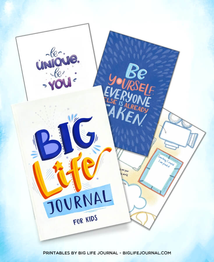 Big Life Journal - Be Unique, Be You