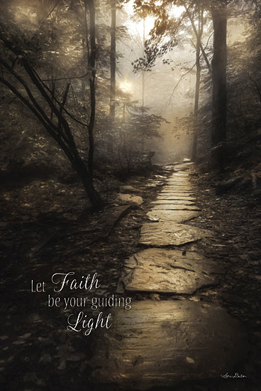 Lori Deiter LD850 - Let Faith be Your Guiding Light - Path, Landscape, Inspirational, Photography, Trees, Path from Penny Lane Publishing