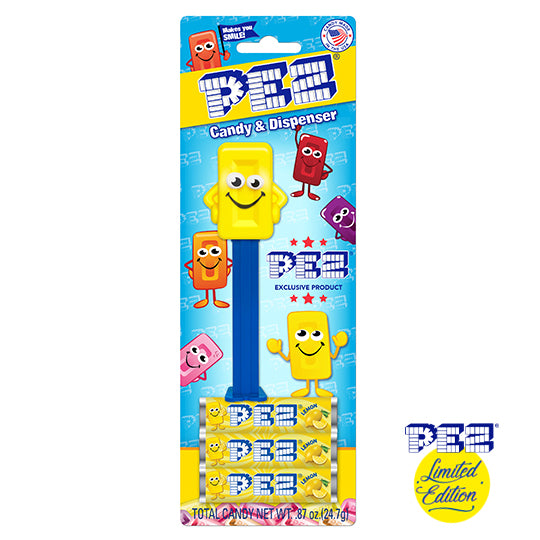 PEZ Mascot - Yellow