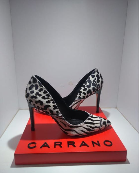 SCARPIN CARRANO 134980 ANIMAL PRINT ZEBRA