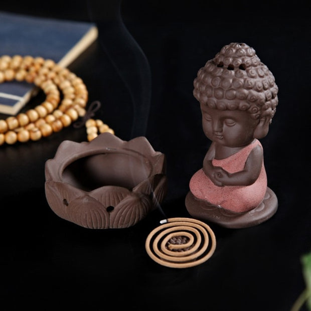 BUDDHA INCENSE® - little statue incense burner
