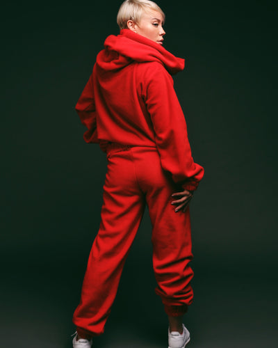 TEDDY 24 PANTS // RED