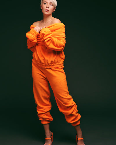TEDDY 24 PANTS  // ORANGE
