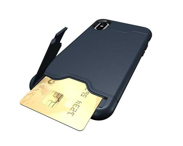 Funda bolsillo secreto - Card slot - para iPhone