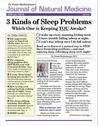 Advanced Sleep Formula -- Soundview/Advanced Bionutritionals
