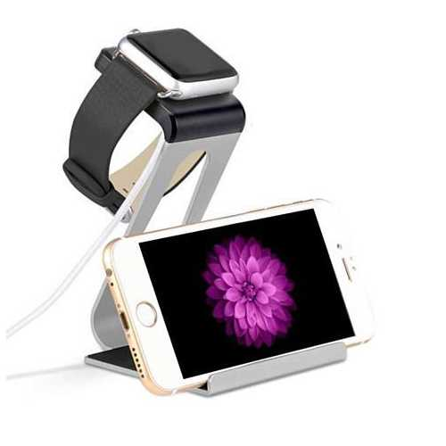 Dual Charging Stand for Apple iWatch/IPhone