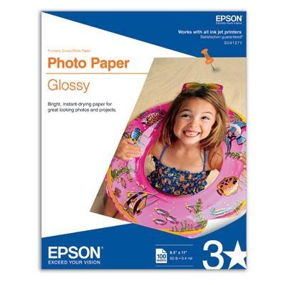 Photo Glossy 8.5x11 100sheets
