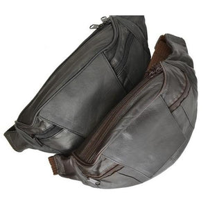 Genuine Leather Travel Pouch