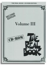 The Real Book (6th Edition, Hal Leonard) - Volume 3 - Second Edition - C version CD-Rom