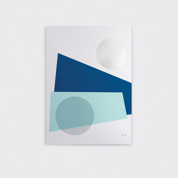 Night Print by Tom Pigeon