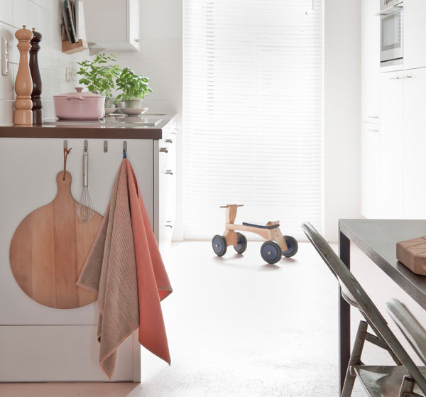 Pink TwoTowel in Kitchen space