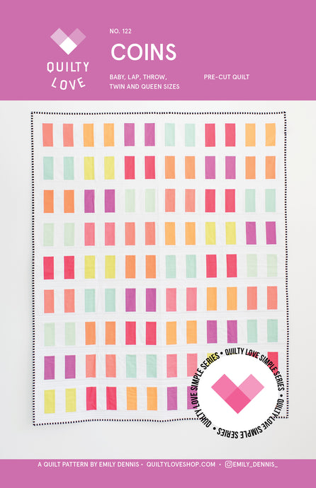 Coins PDF Quilt Pattern-Automatic download