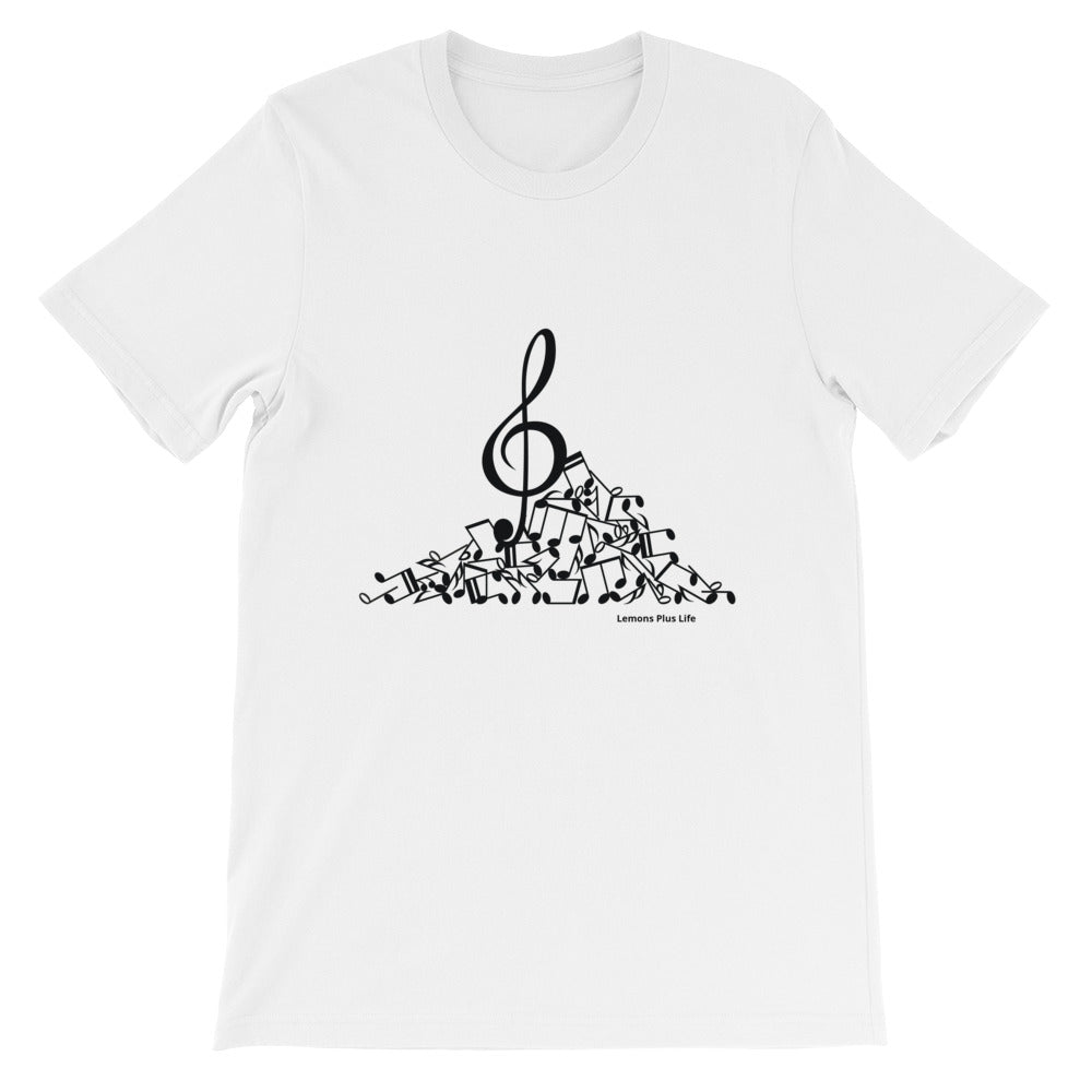 Bella + Canvas Unisex Music T-shirt